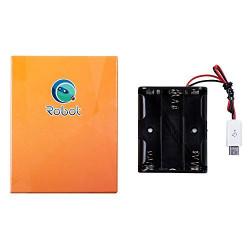 MicroUSB Battery Holder (3xAA)