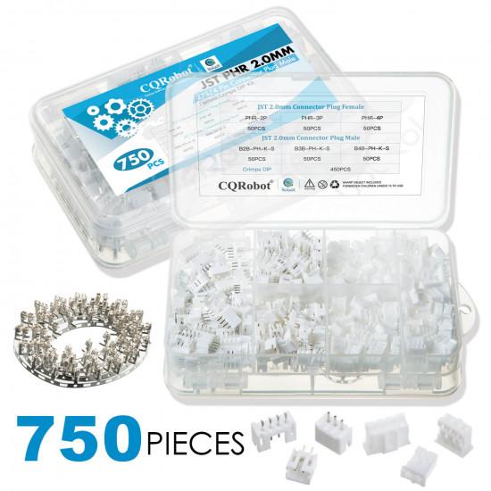 JST PH - 2 / 3 / 4 Pin Connector Kit