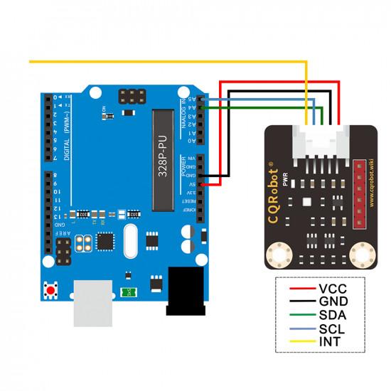 Ocean: BMP388 Barometric Pressure Sensor for Raspberry Pi, Arduino and STM32.
