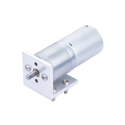 20.41:1 MP Metal DC Geared-Down Motor 25Dx47.8L mm 4.5W/12V, with Fix Bracket.
