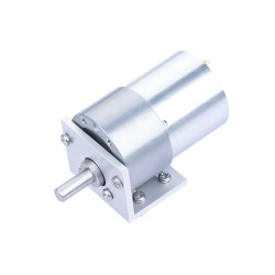 393.8:1 Metal DC Geared-Down Motor 37Dx49.8L mm 24V, with Mounting Bracket.