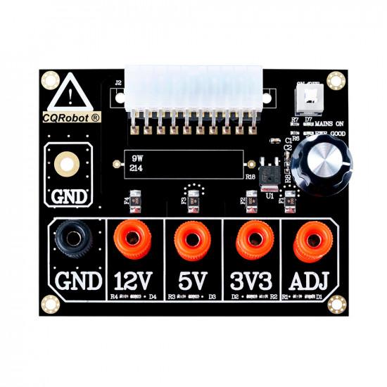 ATX Power Supply Breakout Board Acrylic Case Kit