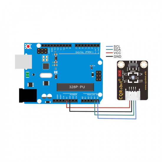 Ocean: SHT31-F Temperature and Humidity Sensor for Raspberry Pi and Arduino.