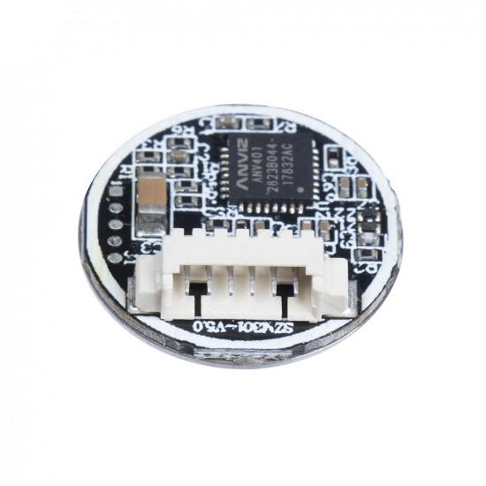 Capacitive Fingerprint Sensor,UART Fingerprint Sensor,Round-Shaped All-in-one Capacitive Fingerprint Sensor Module,360/¡/ã Omni-Directional verification,Integrated Fingerprinting Algorithm.