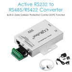 Active RS232 to RS422/RS485 Serial Converter Bidirectional Converter Adapter.