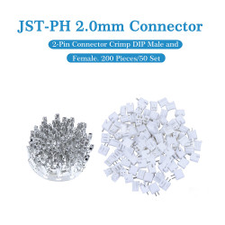 JST PH 2.0 mm 2-Pin Connector Kit