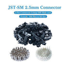JST SM 2.5 mm 2-Pin Connector Kit