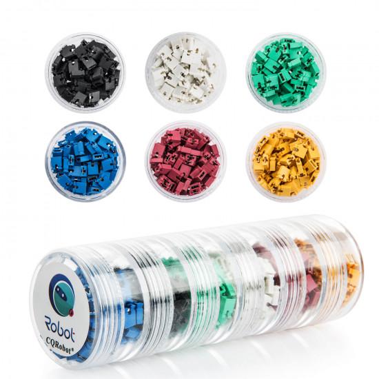 RGB Jumper Cap Header Pin Shunt Short Circuit Connector Open Top 2.54mm