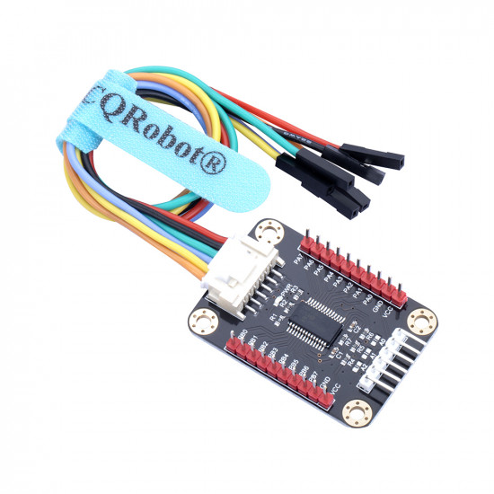 Ocean: MCP23017 IO Expansion Board for Raspberry Pi, Micro:bit, Arduino and STM32.