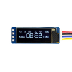 128x32, General 0.91 inch OLED display Module