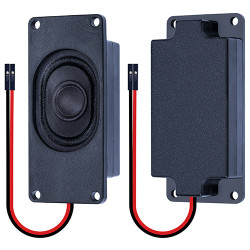 Passive Speaker 4Ω 3W, 2.54mm Dupont Interface.