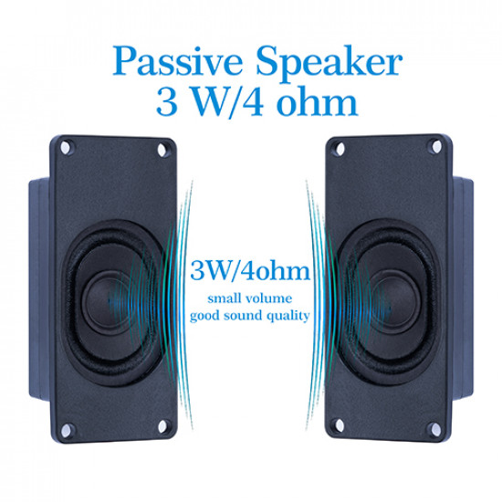 Speaker 3 Watt 4 Ohm for Arduino, 2.54mm Dupont Interface.