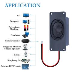 Passive Speaker 4Ω 3W, JST-PH2.0 Interface.