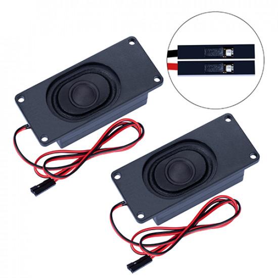 Passive Speaker 8Ω 5W, 2.54mm Dupont Interface.